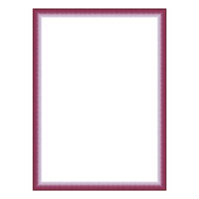 Cornice INSPIRE Bicolor fucsia per foto da 35x50 cm