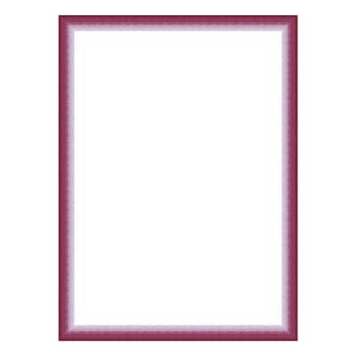 Cornice INSPIRE Bicolor fucsia per foto da 30x30 cm