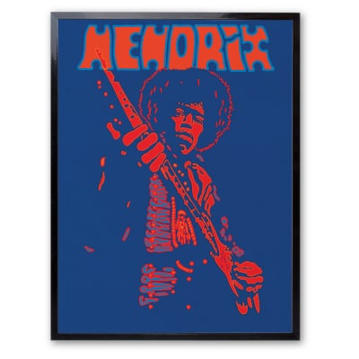 Stampa incorniciata Hendrix 30x40 cm