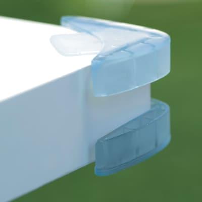 Paraspigolo Trasparente in plastica / pvc Sp 30 mm 4 pezzi