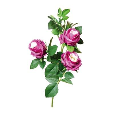 Fiore artificiale Rosa Media H 65 cm