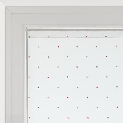 Tendina vetro Camilla bianco tunnel 60x150 cm