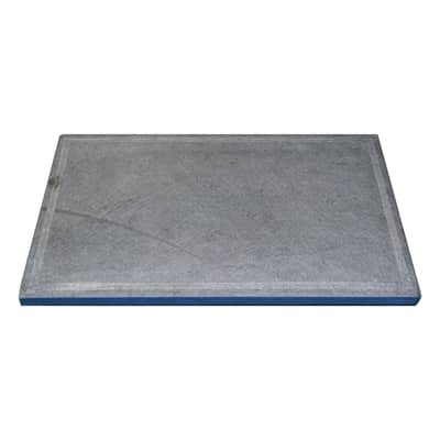 Pietra per barbecue in pietra ollare L 50 x P 30 cm