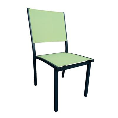 Sedia Elba colore verde