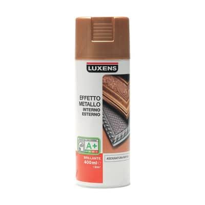 Smalto spray LUXENS Effetto Metallo oro metallizzato 0.0075 L