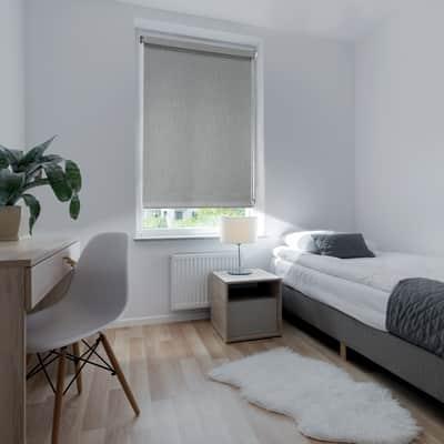 Tenda a rullo Ancona oscurante grigio 120x250 cm