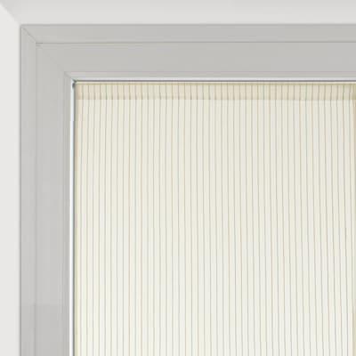 Tendina vetro Natura bianco tunnel 70 x 190 cm