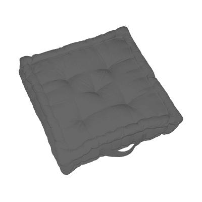 Cuscino da pavimento INSPIRE Elema grigio 60x60 cm