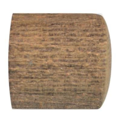 Finale per bastone Ø28mm Tangeri tappo in legno avorio impregnato INSPIRE Set di 2 pezzi