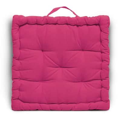 Cuscino da pavimento INSPIRE Futon Clea fucsia 40x40 cm