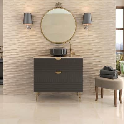 Piastrella Vendome L 40 x H 120 cm sabbia