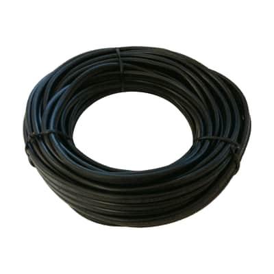 Cavo elettrico h05vv-f LEXMAN 3 fili x 1,5 mm² Matassa 25 m nero