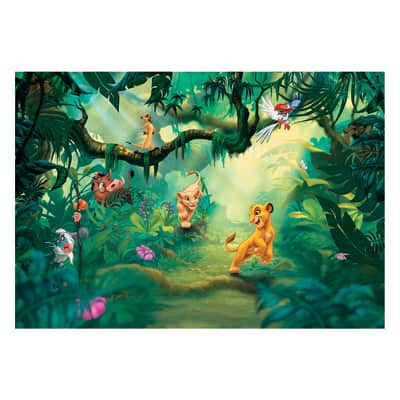 Foto murale KOMAR Lion king jungle 368.0x254 cm