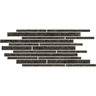 Piastrella decorativa Discovery carbon H 30 x L 60 cm nero