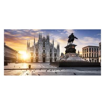 Pannello decorativo Milano Duomo 210x100 cm