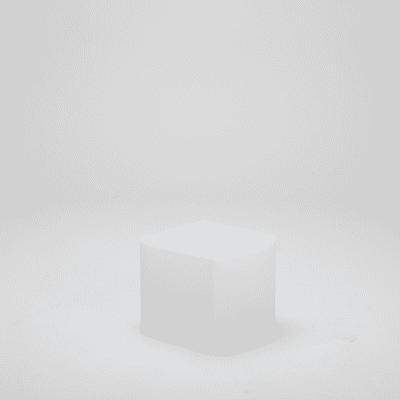 Lampadina solare Cubo , in plastica, luce bianco, 45LM IP65 NEWGARDEN