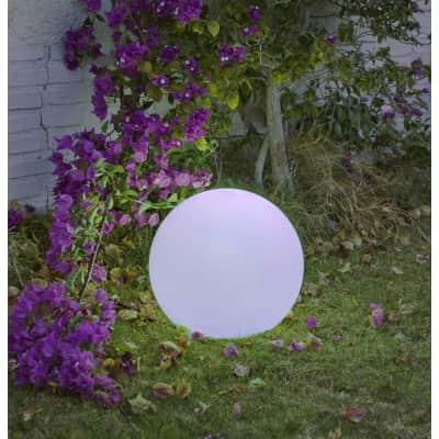 Lampadina solare Buly , in plastica, luce colori cangianti, 45LM IP65 NEWGARDEN