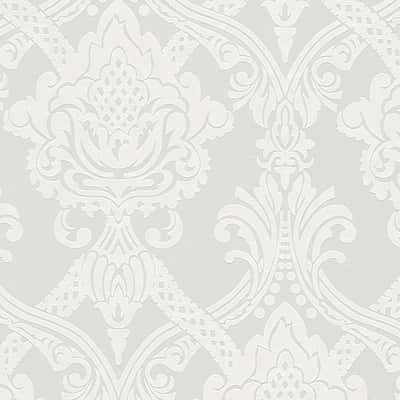 Carta da parati Damas bianco