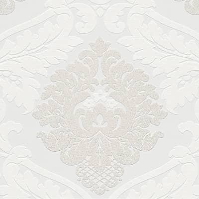 Carta da parati Quarzo bianco