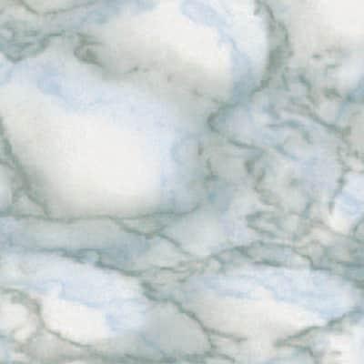 Pellicola Carrara grigio / argento 0.9x2 m