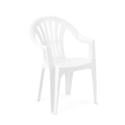 Sedia Kona colore bianco