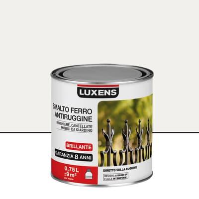 Smalto antiruggine LUXENS bianco 0.75 L