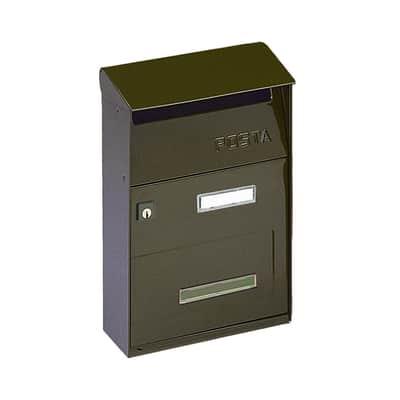 Cassetta postale ALUBOX formato Lettera, ghisa, L 22 x P 11 x H 32.5 cm