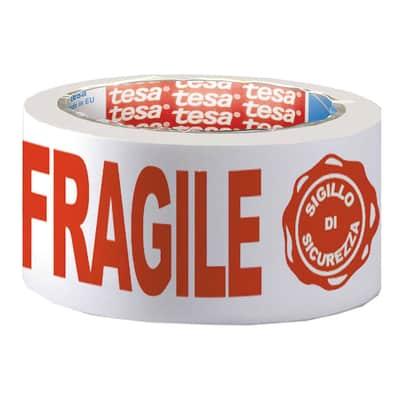 Nastro per imballaggio TESA Fragile L 0.05 m x P 50 mm