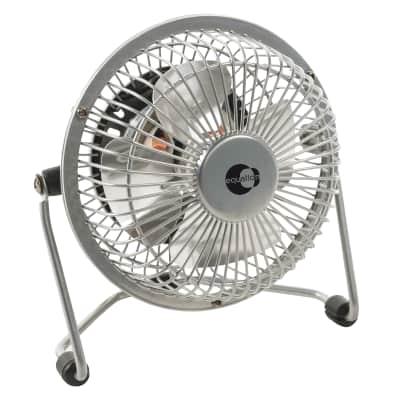 Mini ventilatore EQUATION TX-401D silver 4 W Ø 10 cm