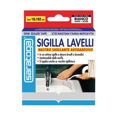 Sigillante SARATOGA Sigilla bagno bianco 182 ml