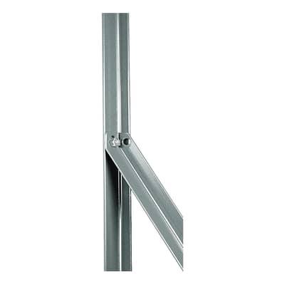 Palo in acciaio galvanizzato Saetta in angolare zincata 25x25mm L 2,5 x P 2.5 x x H 200 cm