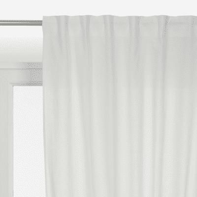 Tenda INSPIRE Polycotton bianco nastro arricciatura automatica 140.0x280.0 cm