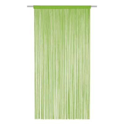 Tenda per porta Spaghetti verde 140x270 cm
