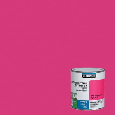 Pittura murale LUXENS 0.75 L rosa shocking 3