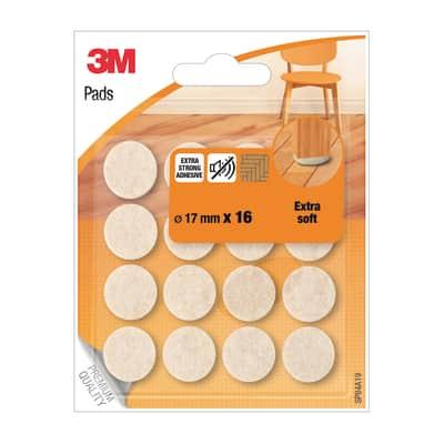 Pattino 3M SP84A19 16 pezzi Ø 17 mm