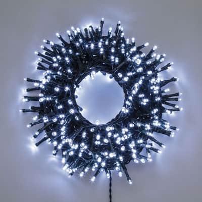 Catena luminosa 1500 lampadine LED bianco freddo 400 cm