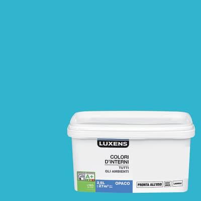 Pittura murale LUXENS 2.5 L blu atollo 4