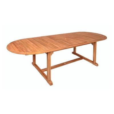 Tavolo allungabile con piano in Legno L 180 x P 95 cm
