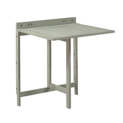 Tavolo da giardino allungabile  rettangolare NATERIAL con piano in legno L 10.5 x P 70 cm