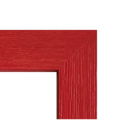 Cornice Riviera rosso per foto da 14x14 cm