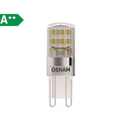 Lampadina LED G9 tubo bianco 1.9W = 200LM (equiv 20W) 300° OSRAM