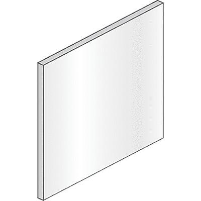 Specchio non luminoso bagno quadrata Style L 70 x H 70 cm