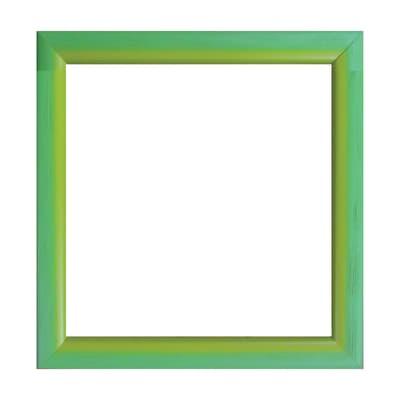 Cornice INSPIRE Bicolor verde / giallo per foto da 20x20 cm