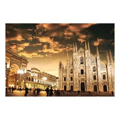 Quadro su tela Milano Duomo 90x135 cm