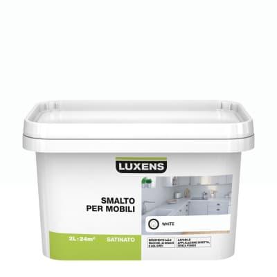 Pittura di ristrutturazione mobile cucina LUXENS 2 l bianco