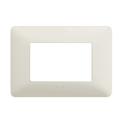Placca BTICINO Matix 3 moduli cenere