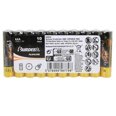 Pila alcalina AAA PAIRDEER 844992 10 batterie