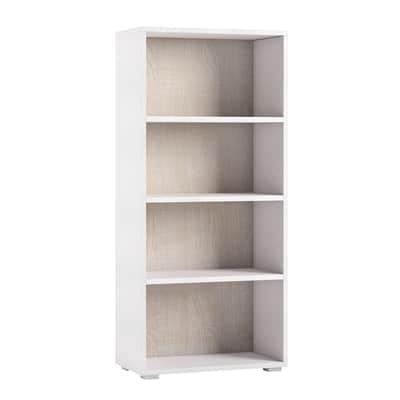 Libreria 4 ripiani L 60 x P 30 x H 130 cm