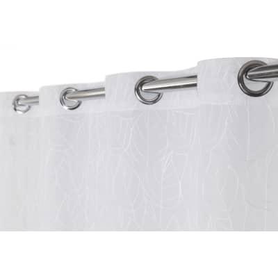 Tenda Autunnale bianco occhielli 140 x 280 cm