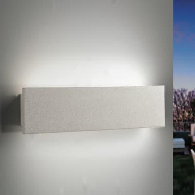 Applique Parker LED integrato in ceramica, bianco, 12W 600LM IP54